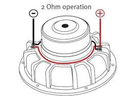 2 ohm wiring diagram for subwoofers schematics and wiring diagrams 2 ohm subwoofer wiring diagram nilza
