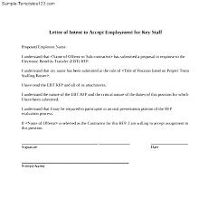 Letter Of Intent Template Download Sample Job Transfer For