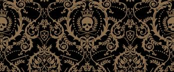 Gothic Wallpaper Pattern - Home Design