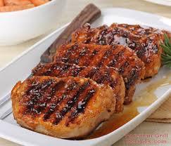 easy honey glazed pork chops foreman