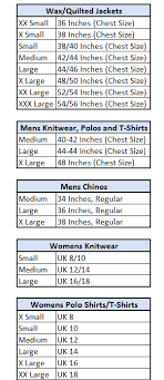 mens to womens size chart john partridge size guide