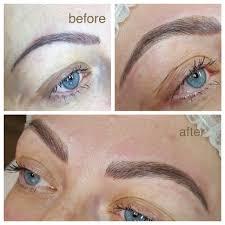 microblading semi permanent eyebrows london microblading hairstrokes semipermanentmakeup microbladinglondon