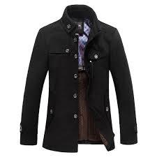 whole classic wool pea coat men manteau homme 2016 winter fashion mens thick cashmere overcoat casual brand duffle coat pea coats 3xl wool pea coat men