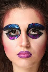80s reinterpretation artistic makeup fashion makeup
