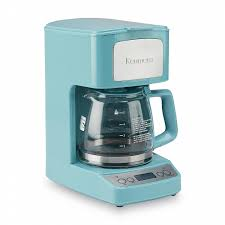 5 Cup Coffee Maker Kenmore 5 Cup Light Blue Coffee Maker Shop Your Way Online