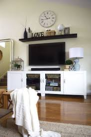 Wall Tv Decoration 17 Best Ideas About Tv Stand Decor On Pinterest Tv Decor