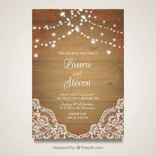 invitation card vectors, photos and psd files free download Animated Wedding Invitation Cards Free Download elegant wedding card with wooden design animated wedding invitation ecards free download