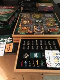 Wooden Monopoly Board Game Wood Monopoly and Cluedo Compendium Board Game £100100 Amazon 76