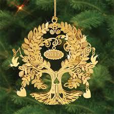 Annual Ornaments The 2017 Danbury Mint Annual Gold Christmas Ornament The Danbury Mint