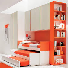 Orange Bedroom Furniture Furniture Cool Double On Wheel Sofa Bed With Closet And Excerpt