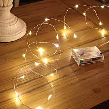 indoor string lighting. 20 LED Micro Silver Wire Indoor Battery Operated Firefly String Lights By Festive (Warm White) Lighting V