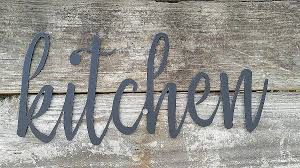 metal words wall art metal kitchen signs farmhouse wall decor metal words rustic throughout metal word