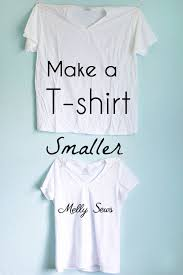 How To Make Shirt How To Make A Big Shirt Smaller Melly Sews