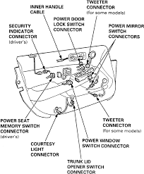 Power Door Lock Switch Wiring Diagram