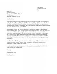 Cover Letter For English Teaching Position Cover Letter For
