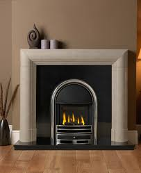 appolo glass fronted he gas fire inset h l cast front