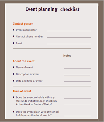 Event Planning Checklist Pdf 11 Sample Event Planning Checklists Pdf Word
