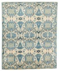 amazing home alluring blue ikat rug of river hand knotted swatch gray williams sonoma blue