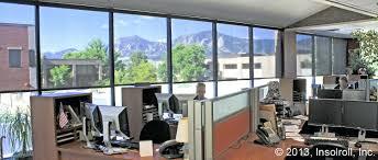 sun shade for windows conference room office window shades flatiron solar  screen treatments sunshade tinted