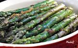 asparagus and caramelized onion matzoh farfel