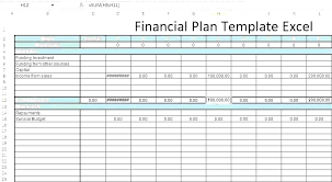 Financial Planning Sheet Excel Sample Financial Plan Documents In Word Excel Financial Plan