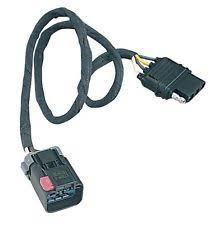 dodge ram 1500 van towing hauling trailer tail light connector dodge ram van 99 00 hitch wiring 1500 2500 3500