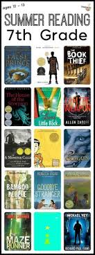 7th grade summer reading list ages 12 13