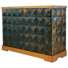 barbara barry furniture. Baker Furniture Barbara Barry Diamond Gold Leaf Cabinet For Sale A