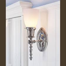 ornate lighting. Ornate Sheraton™ One Light Straight Arm Sconce Lighting Bathroom