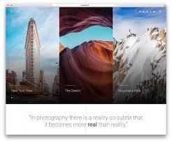 29 Best Stunning Free Photography Website Templates 2019