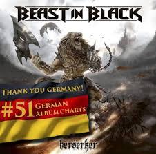 German Black Charts Beast In Black Berserker Enters The German Album Charts