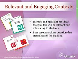 Making Sense of Inquiry Based Learning  An Ontario Perspective     SlidePlayer
