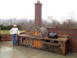 italian wood burning pizza ovens outdoor brick oven kits outside fired commercial for backyard plans