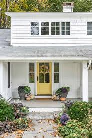 farmhouse style front doorsUs Bungalow Makes A Modern Impression Entrance Kat Entrance Grey