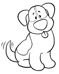 Small Picture Download Coloring Pages Dog Coloring Page Dog Coloring Page Dogs