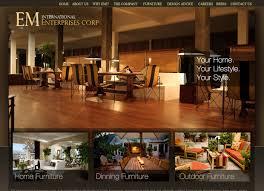 Furniture Store Web Design Web Design For Furniture Web Design Magnificent Furniture Website Design