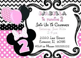 Minnie Mouse Invitation Template Free Printable Mouse Baby Shower