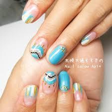 夏にオススメのボヘミアンネイル Nail Salon Azt