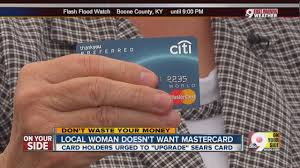 local woman doesn t want sears mastercard