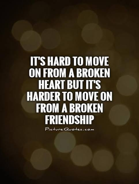 broken friendship quotes in english