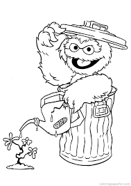 Baby Sesame Street Coloring Baby Sesame Street Characters Coloring