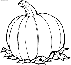 Big Pumpkin Coloring Pages Big Pumpkin