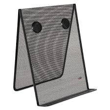 Rolodex Mesh Document Holder Stainless Steel Black