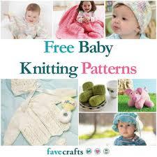Free Baby Knitting Patterns Mesmerizing 48 Free Baby Knitting Patterns FaveCrafts