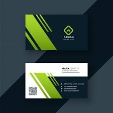 White Business Card With Red And Black Details Psd File Free
