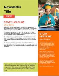 Newletter Formats School Newsletter Formats Magdalene Project Org