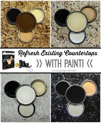 Giani Countertop Paint Color Chart Visual Color Guide Featuring The 4 Main Kit Colors Of Giani