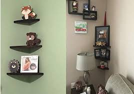 oropy wall mount solid wood floating