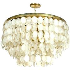 chandeliers round capiz chandelier best shell ideas on and teal op