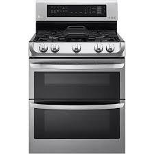 double oven gas range with griddle.  Double Ft Freestanding Gas Double Oven With Griddle Plate Stainless Steel Inside Range With